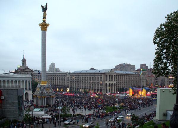 Majdan Nesaleschnosti Kiew Foto: Elke Wetzig Lizenz: CC BY-SA 3.0
