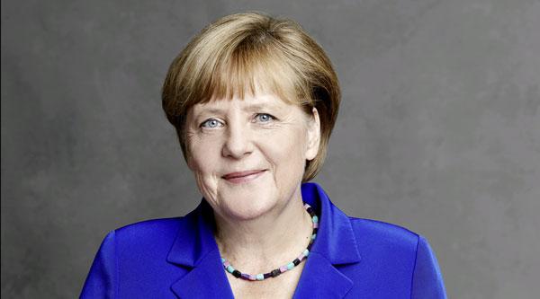 Angela Merkel: Foto: CDU/Laurence Chaperon Lizenz: Copyright