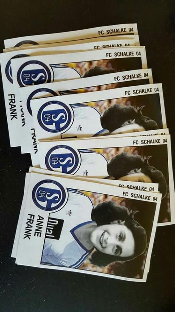 Bvb Nazi Fans Anne Frank Im Schalke Trikot Ruhrbarone