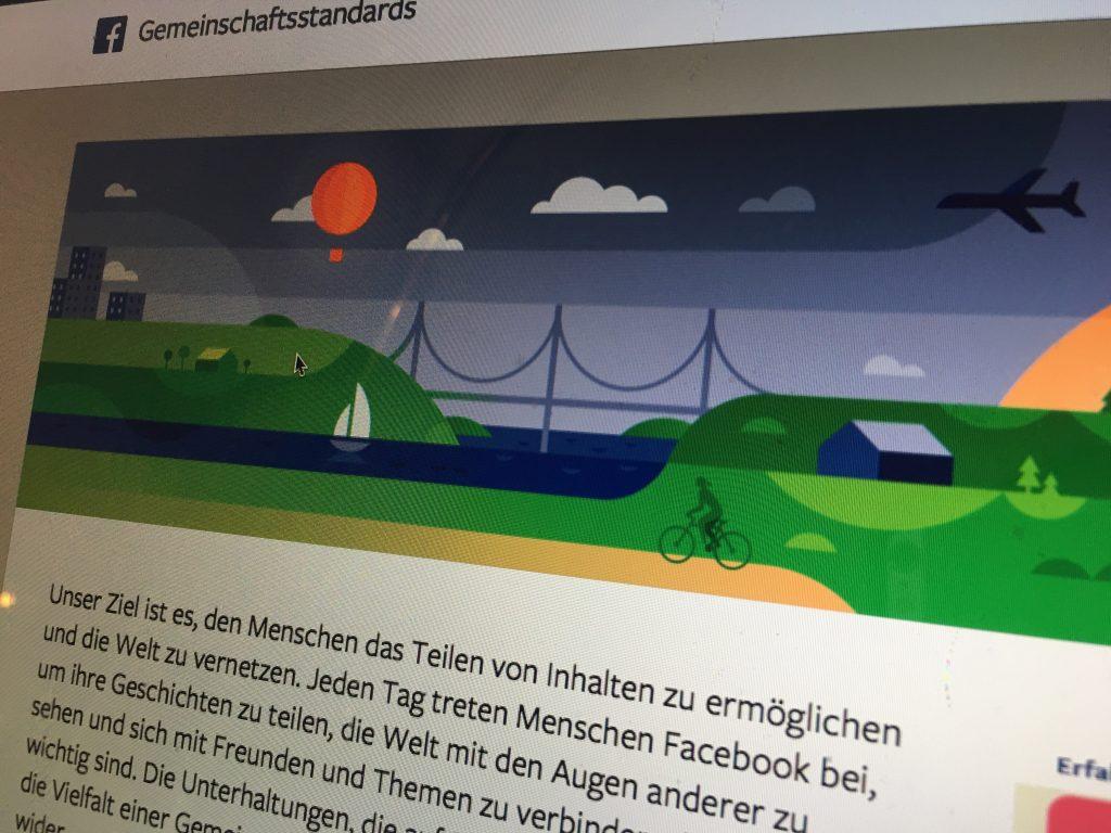 Facebooks Gemeinschaftsstandard