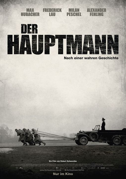 """""""Der Hauptmann"""": Film-Poster"""