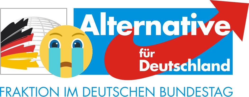 Malu Dreyer bringt AfD-Bundestagsfraktion zum Weinen. (Smiley Created by Freepik)
