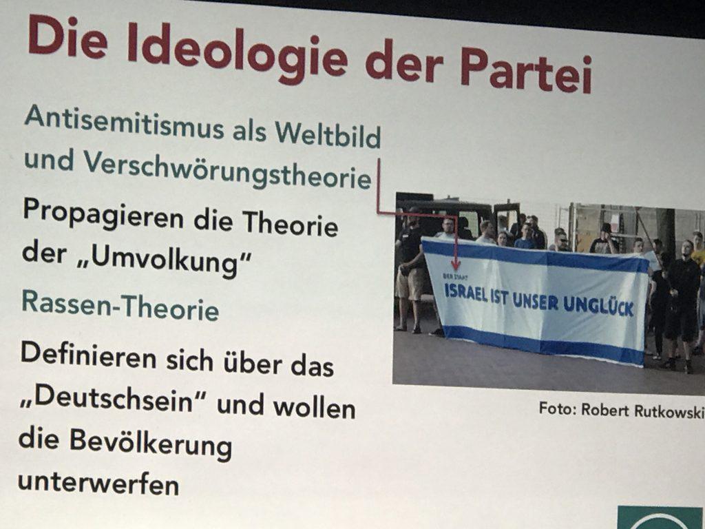 Die Rechte: Antisemitismus als Programm...