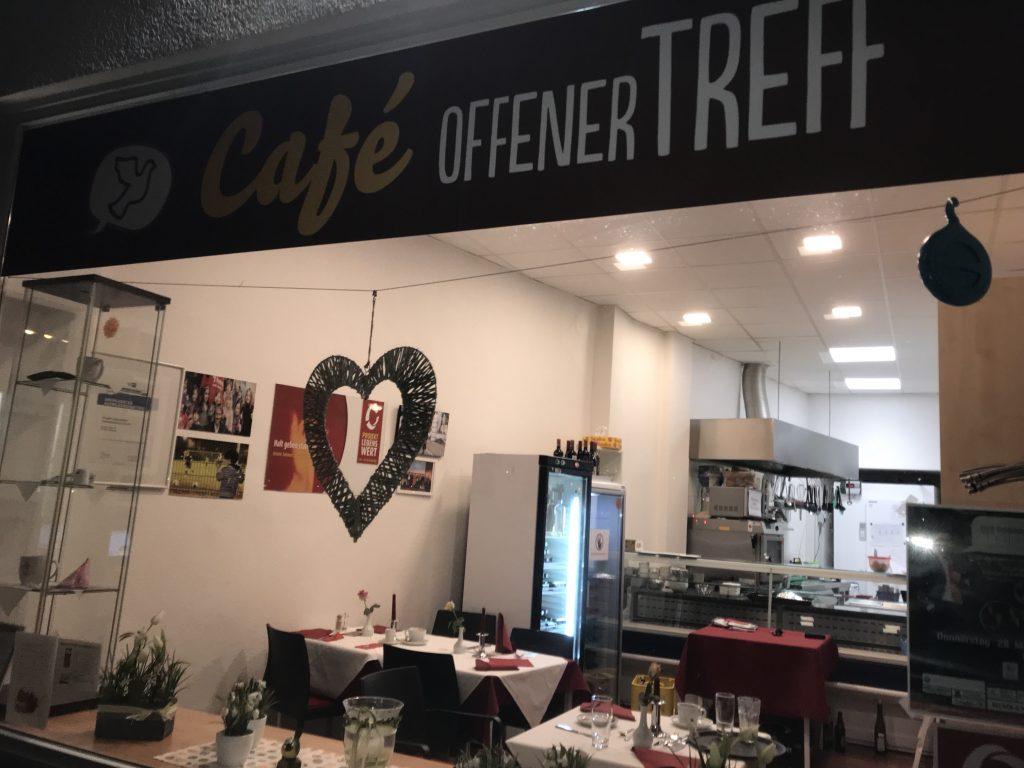 """Sozial-Café """"Offener Treff"""" und Restaurant Sham; Foto: Peter Ansmann"""