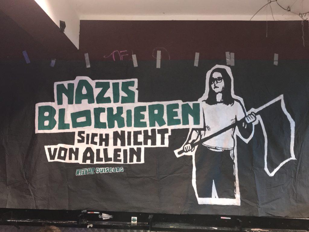 """Nazis der Kleinpartei """"Die Rechte"""" wollen am 1. Mai in Duisburg marschieren..."""