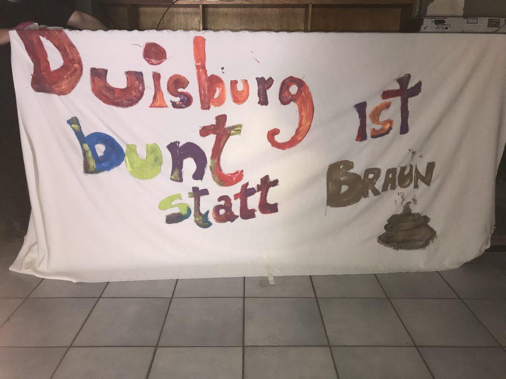 Duisburg ist bunt statt Braun! Foto: Peter Ansmann