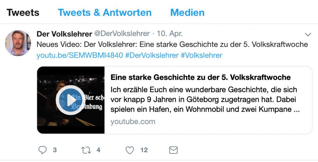 """""""Volkskraftwochen"""" - KdF mit dem """"Volkslehrer""""!"""
