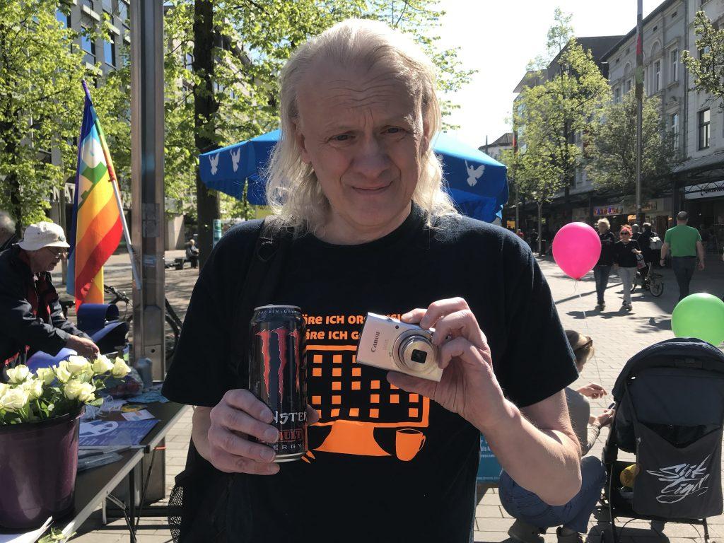 Dirk Küsters, Piratenpartei Duisburg; Foto: Peter Ansmann