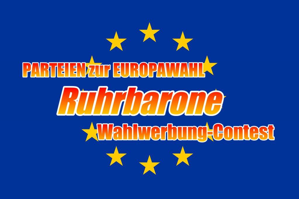 Parteien zur Europawahl 2019!