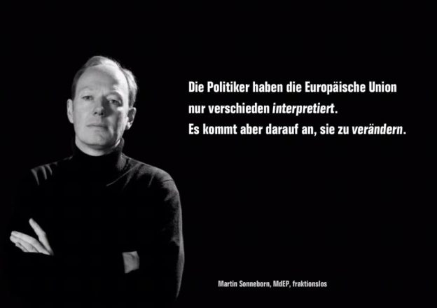 Martin Sonneborn: Leidenschaftliches Plädoyer für Europa!