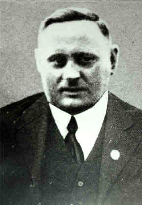 Von den Nazis erschlagener sozialdemokratischer Gewerkschafter Michael Rodenstock