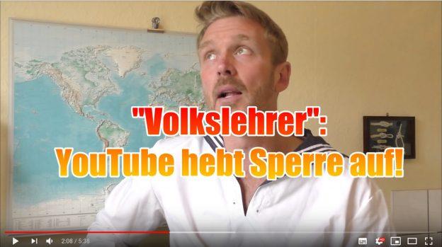 """Antisemitische Videos: YouTube sperrt den Kanal des """"Volkslehrers"""" nicht mehr..."""