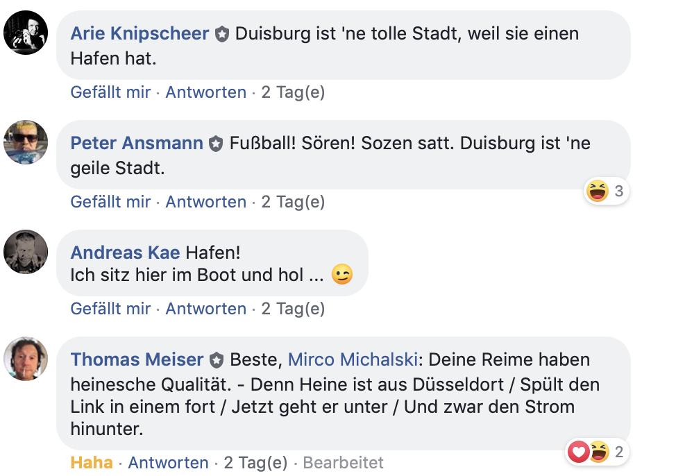 Kümmern sich um Duisburg: Mitglieder der Gruppe @ duisburg ~stadt- und bürgerpolitik
