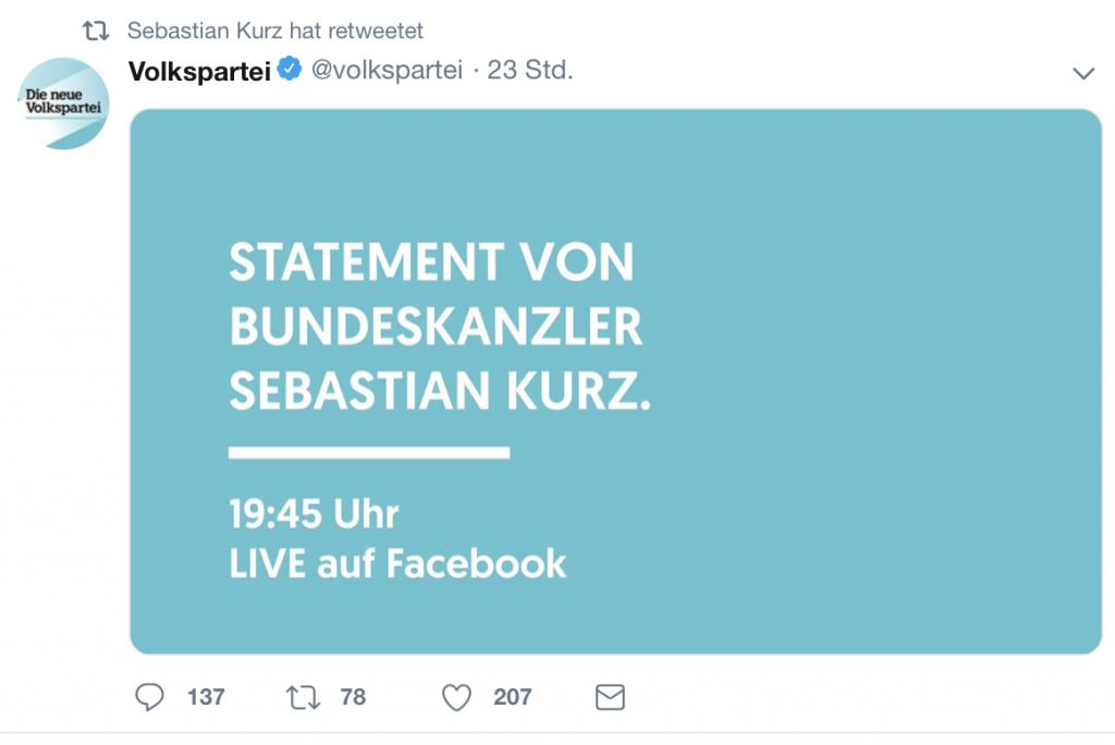 19:45 Uhr: Keine Gute Zeit für Nazis; Screenshot Twitter