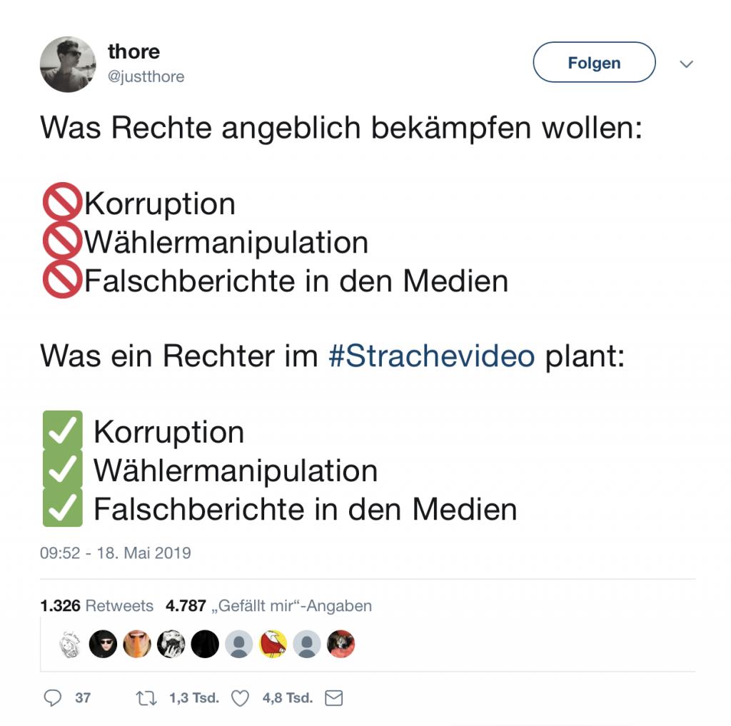 Thore aus Berlin ist da was aufgefallen; Foto: Screenshot Twitter