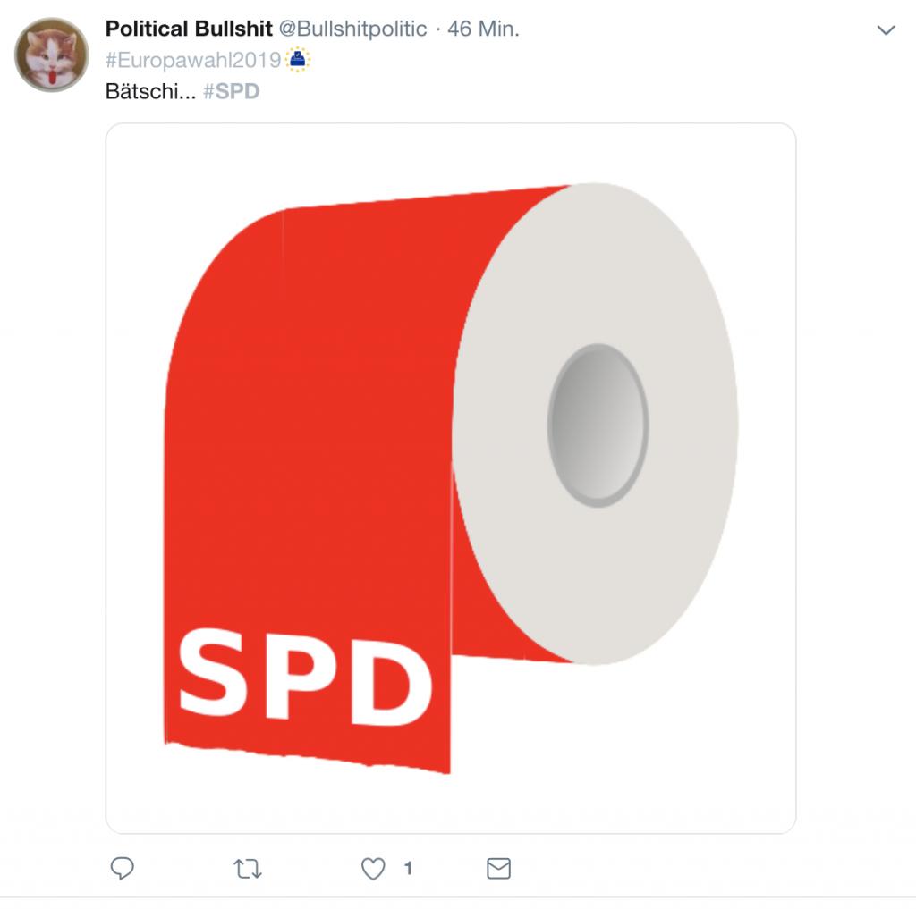 SPD: Es kommt schließlich drauf an, was hinten rauskommt! Screenshot