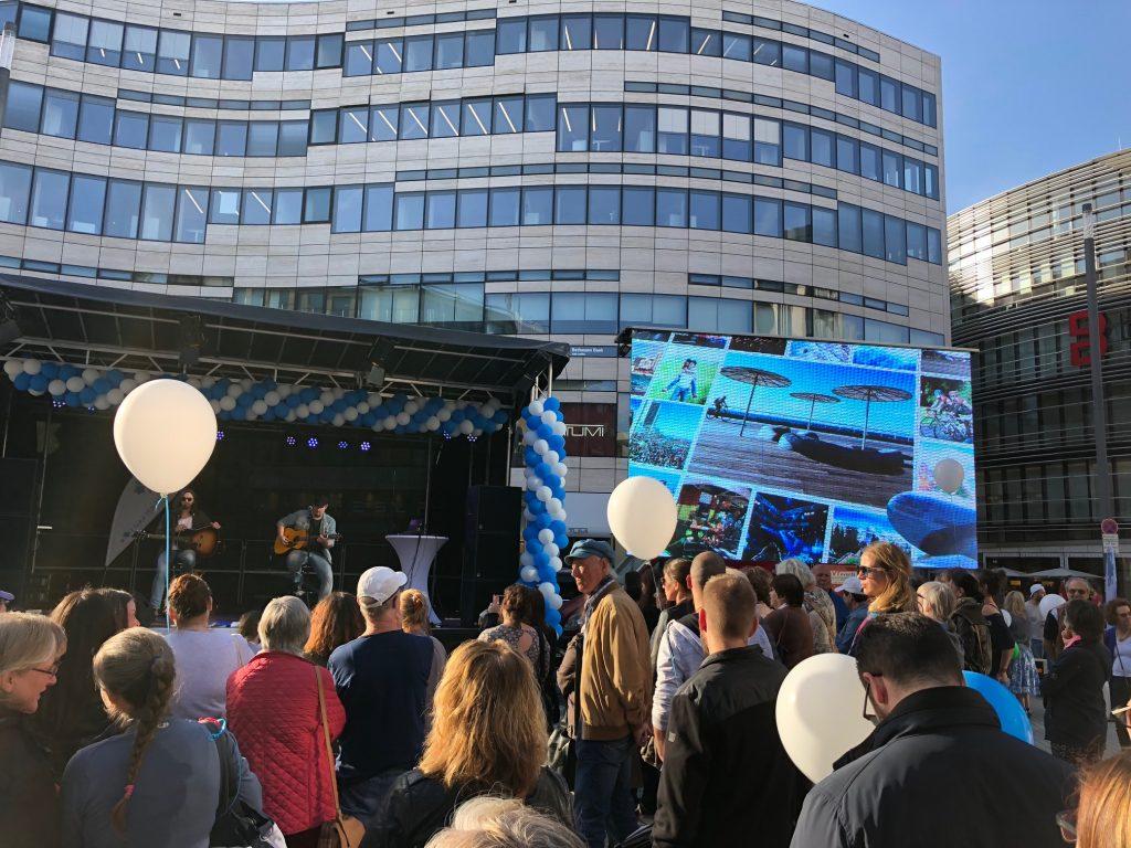 Impressionen vom Israeltag 2018; Foto Jüdische Gemeinde Düsseldorf