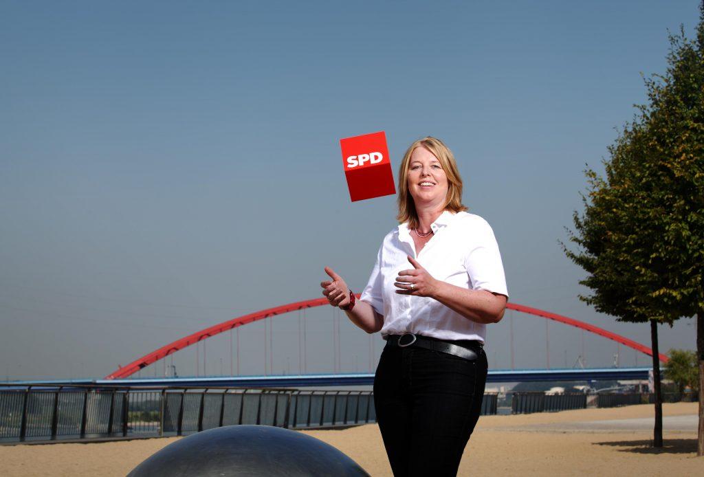 Würfeln bringt die SPD nicht weiter. Was vielleicht hilft, verrät Bärbel Bas (SPD); Foto: Bärbel Bas