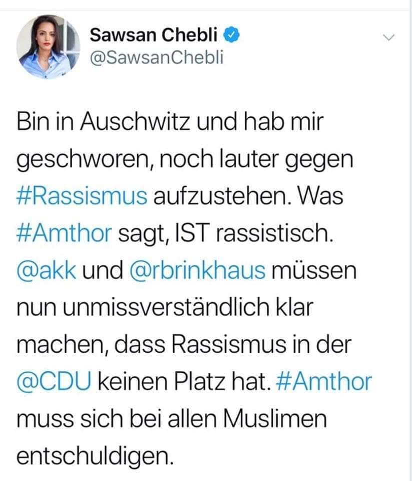 Sawsan Chebli und Twitter. Eine tragische Geschichte.