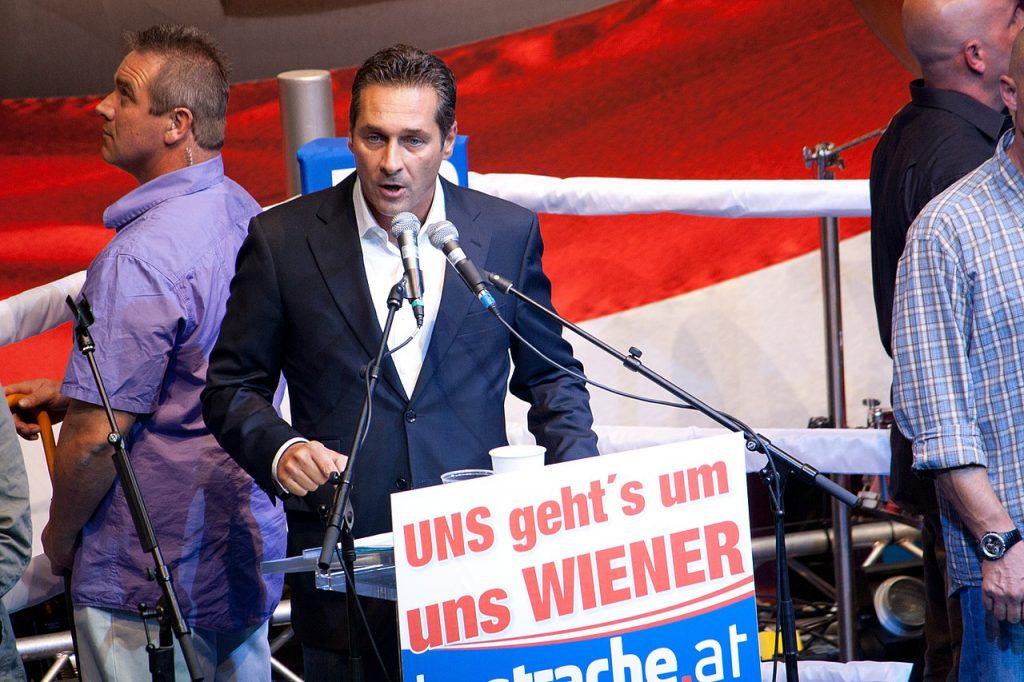 Ein Foto aus besseren Zeiten: HC Strache (2010);