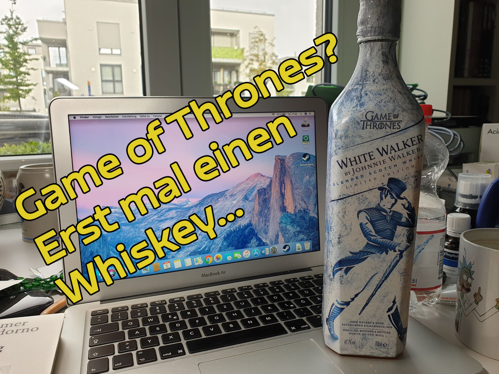 "Maximilians leckerer ""Game of Thrones""-Whiskey."