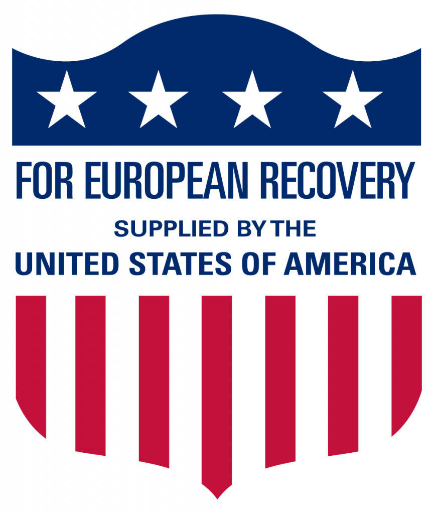 Pillar for the reconstruction of Europe after the Second World War: The Marshall Plan; Photo: U.S. Government