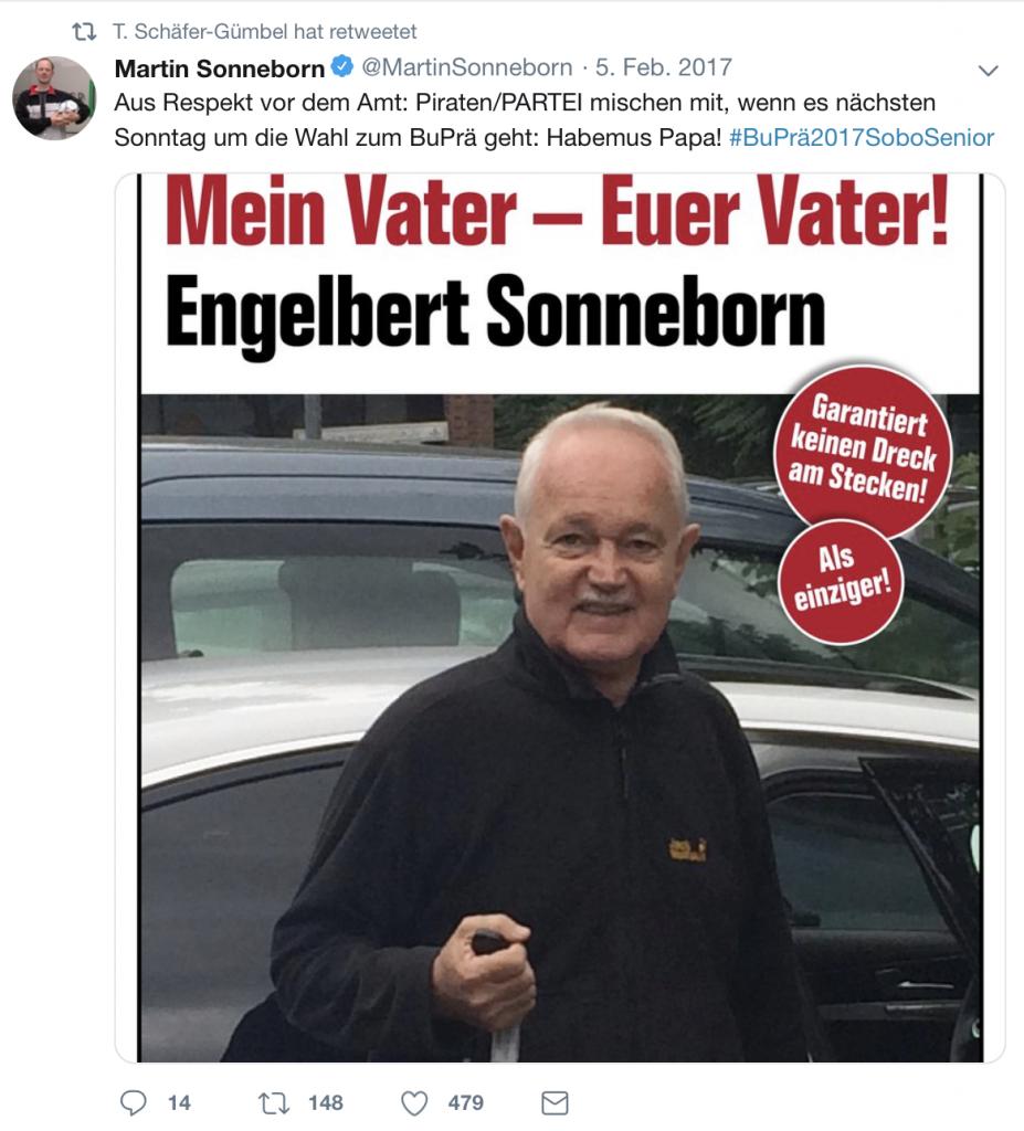 Eventuell verwirrend für SPDler: Ein Fake-Account der auf Thorsten Schäfer-Gümbel läuft; Foto: Screenshot Twitter