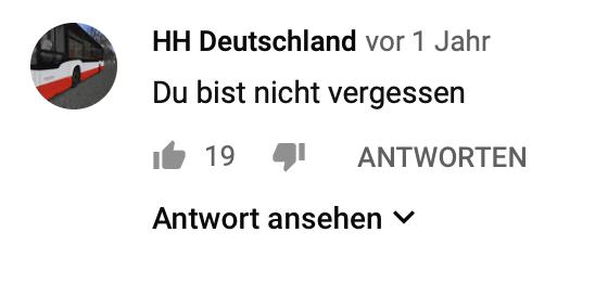 """""""Du bist nicht vergessen"""" - und HH steht vermutlich nicht für das KFZ-Kürzel einer deutschen Hansestadt"""