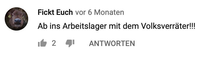 """""""An ins Arbeitslager mit dem Volksverräter!!!"""""""