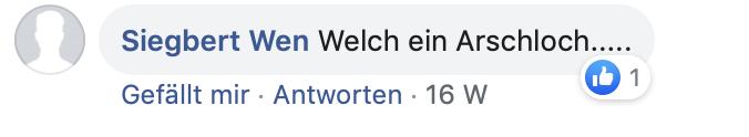 """""""Welch ein Arschloch..."""""""