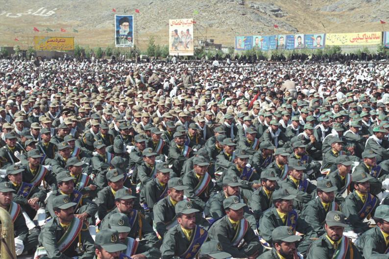 Regimetreue Terrorgruppe zur Sicherung des Iranian Way of Life: Die iranischen Revolutionsgarden; Foto: Khamenei.ir