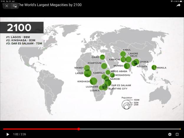 Prognose 2100: Lagos wird die größte Stadt der Welt