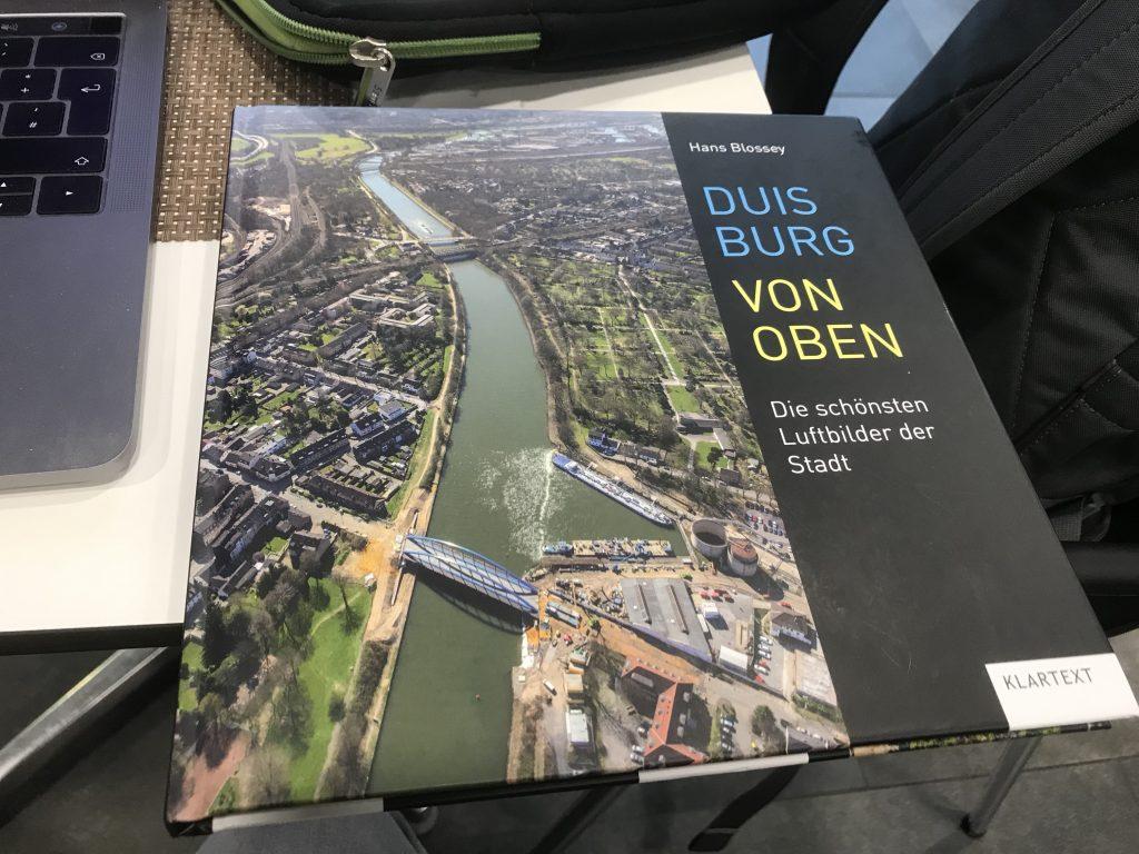 Duisburg von oben - von oben fotografiert; Foto: Peter Ansmann