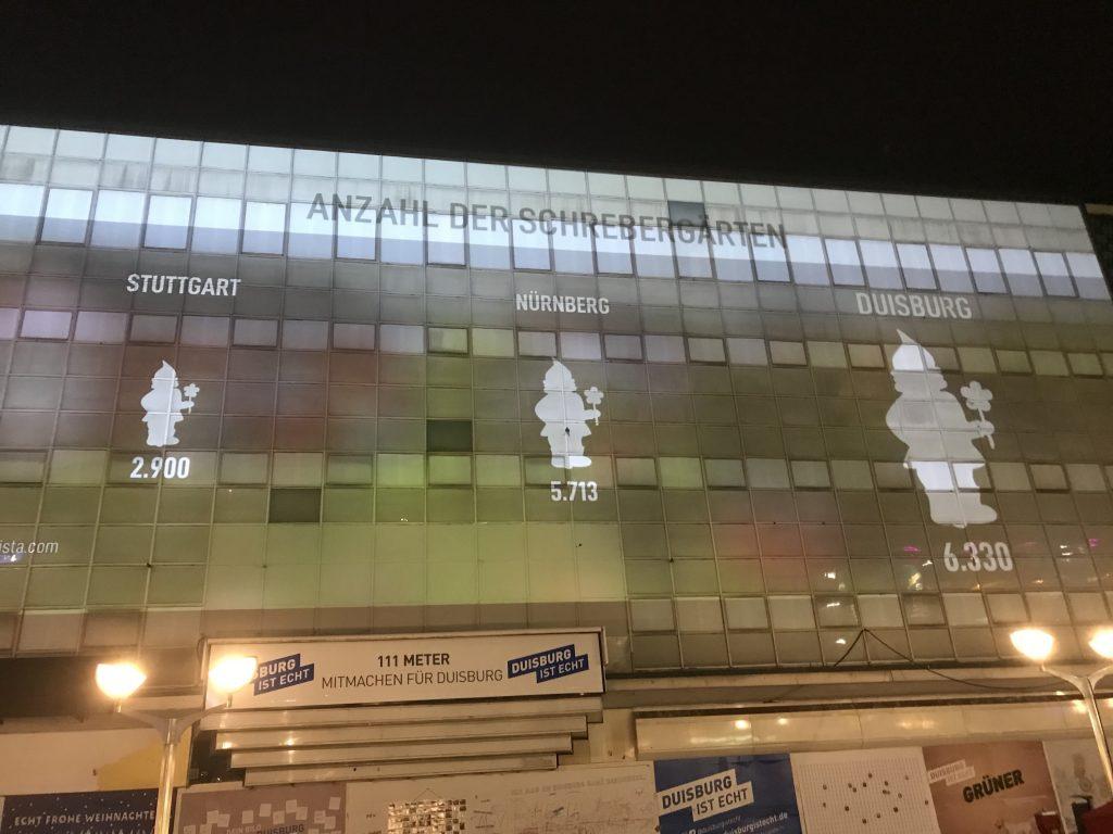 Alles prima in Duisburg: Zumindest bei der Anzahl an Schrebergärten; Foto: Peter Ansmann