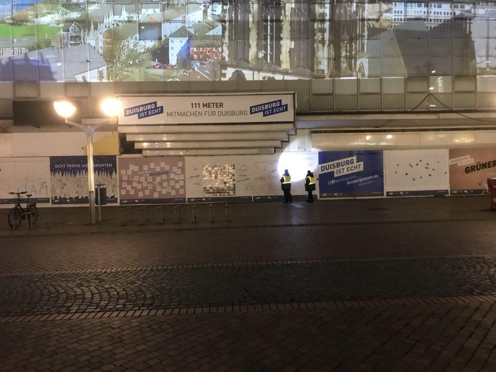 Sicherheit und Ordnung: Zumindest an diesem Vorzeigeprojekt für Duisburg; Foto: Peter Ansmann