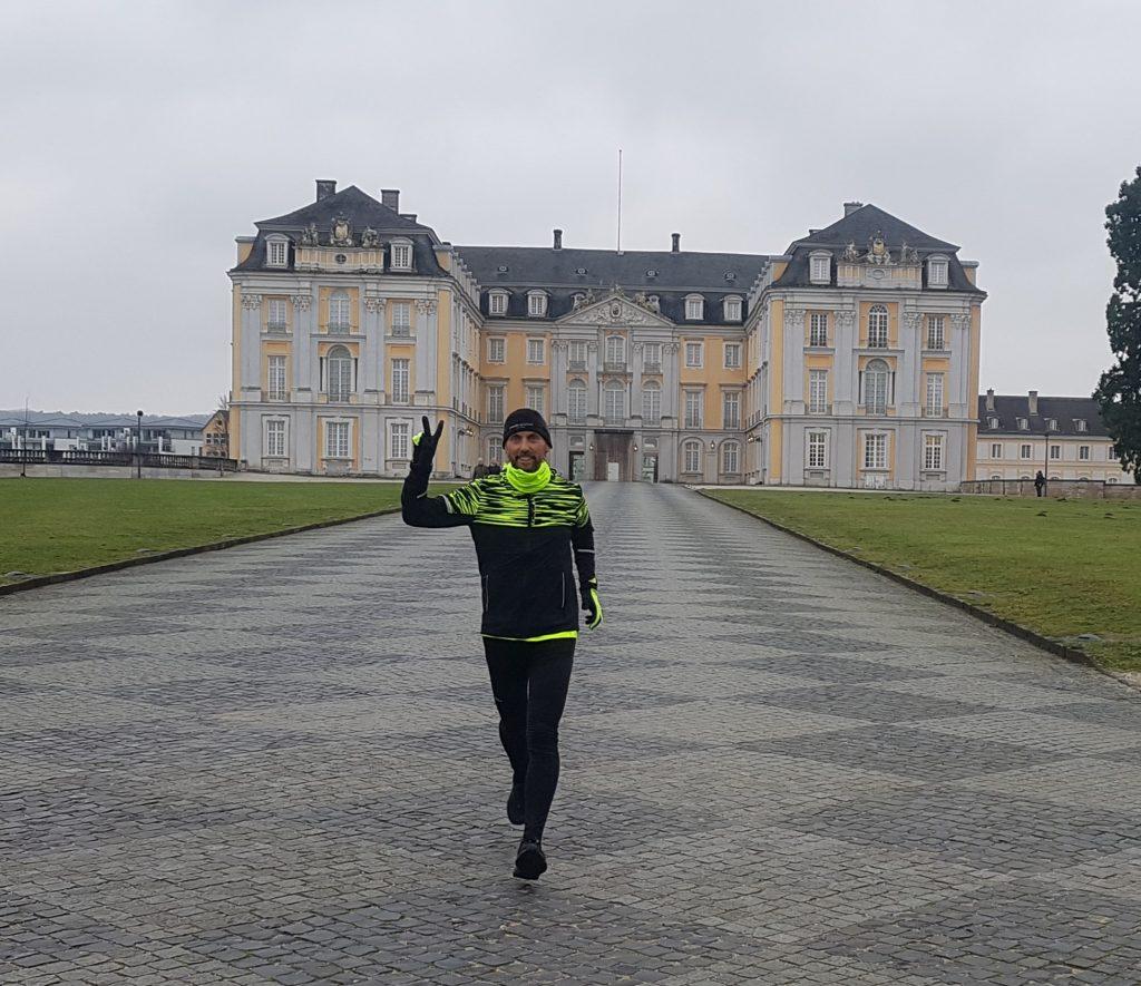 Laufen für ein besseres Duisburg: Pater Tobias; Foto: LebensWert