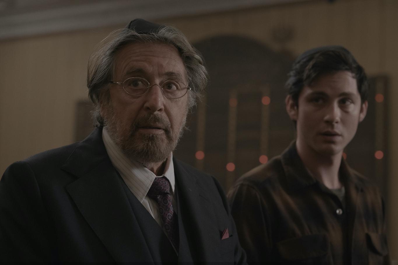 Al Pacino (Meyer Offerman), und Logan Lerman (Jonah Heidelbaum): Gemeinsam mit anderen Gleichgesinnten machen sie Jagd auf Nazis ; Foto: Amazon