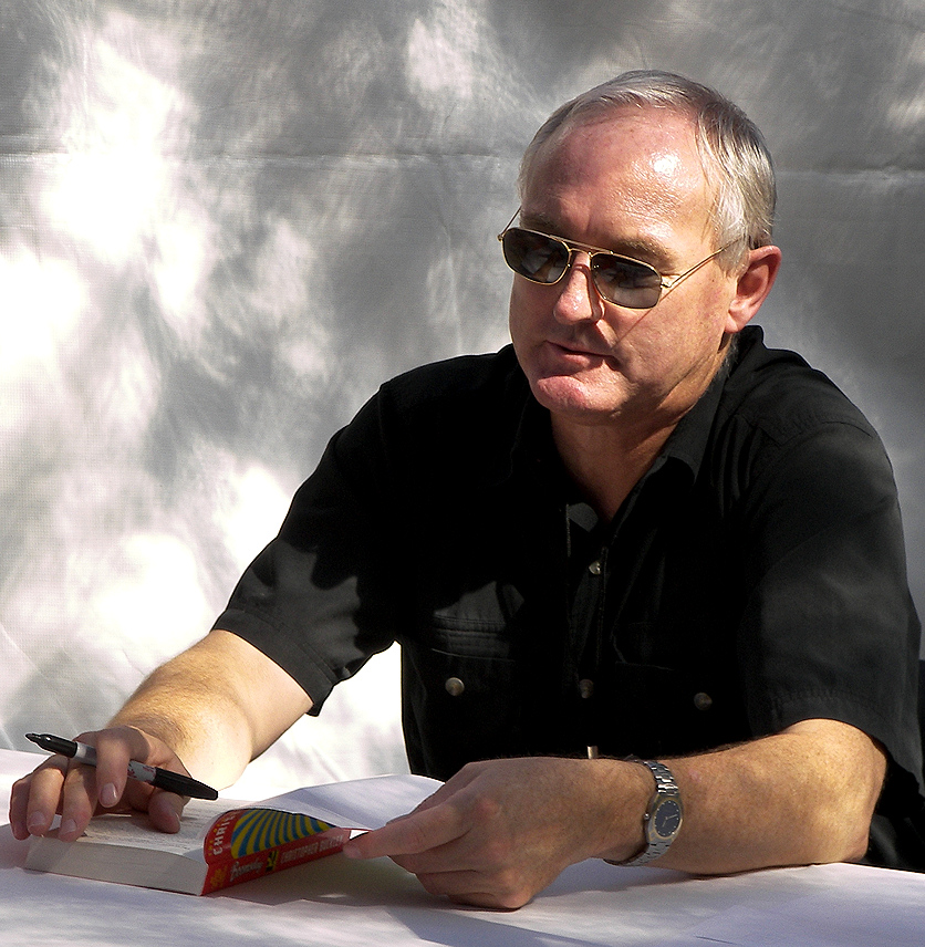 """Christoper Buckley, Autor von """"Thank You for Smoking"""" und ehemaliger Redenschreiber von Ex-US-Präsident George Bush Sen."""