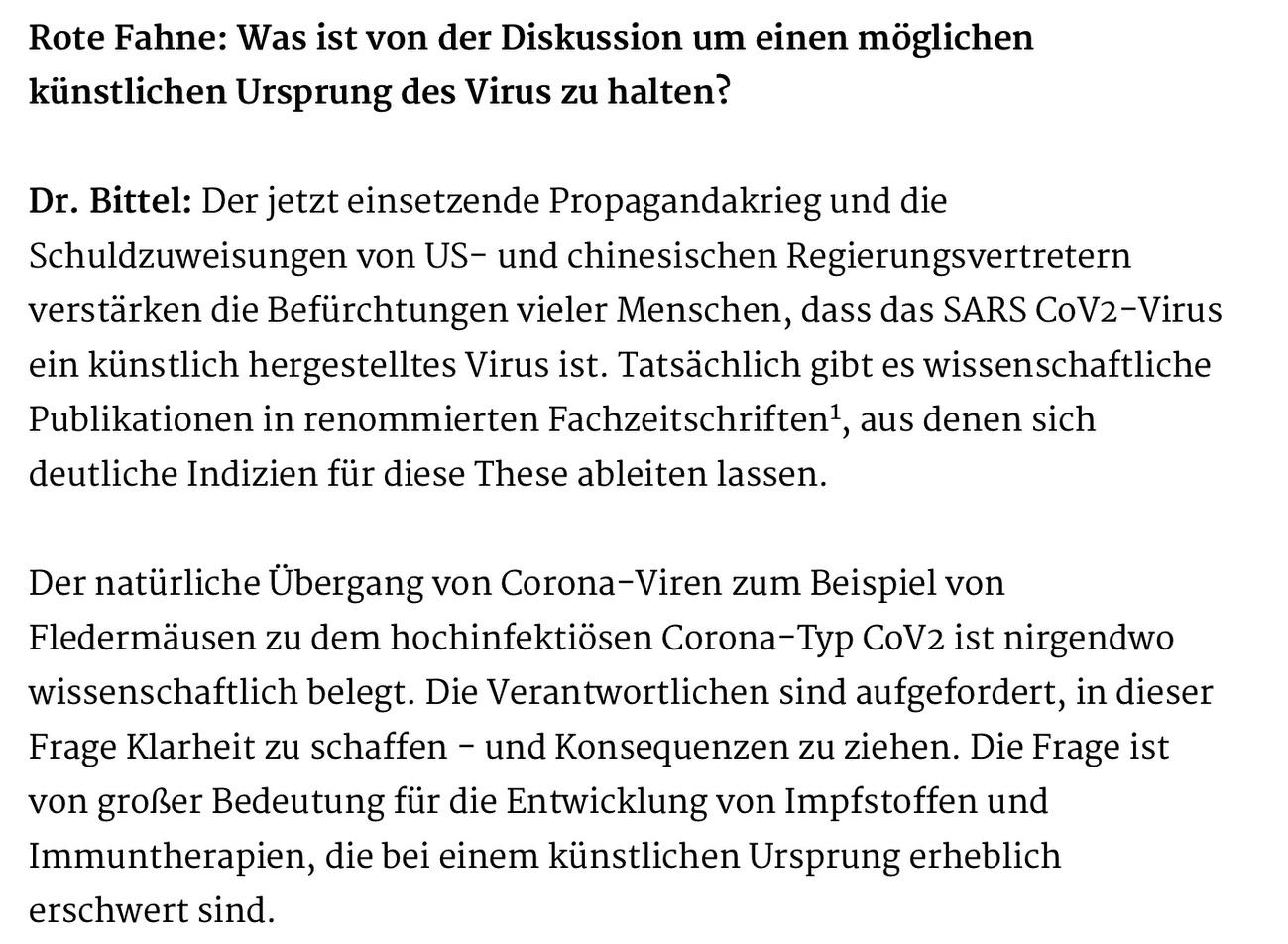 Verschwörungstheorien aus Gelsenkirchen; Screenshot Rote Fahne