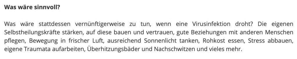 Rohkost hilft; Screenshot KenFM.de