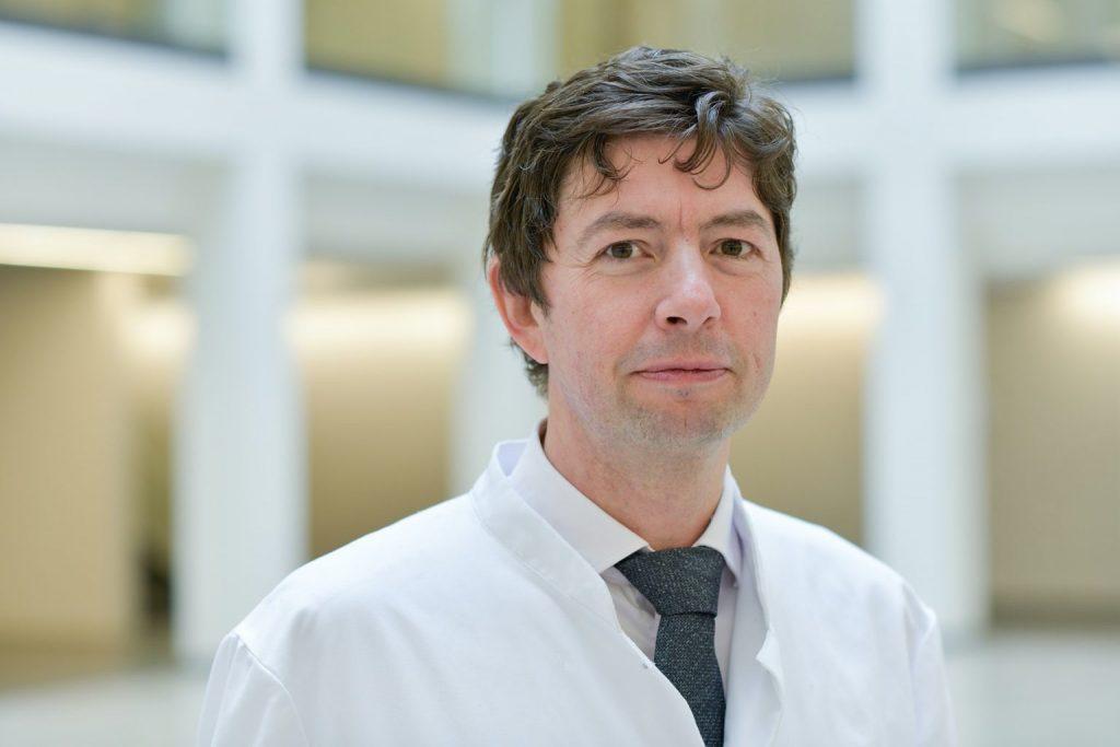 Prof. Christian Drosten: Außerordentliche Leistungen für Wissenschaft und Gesellschaft; Foto: Charité / Wiebke Peitz