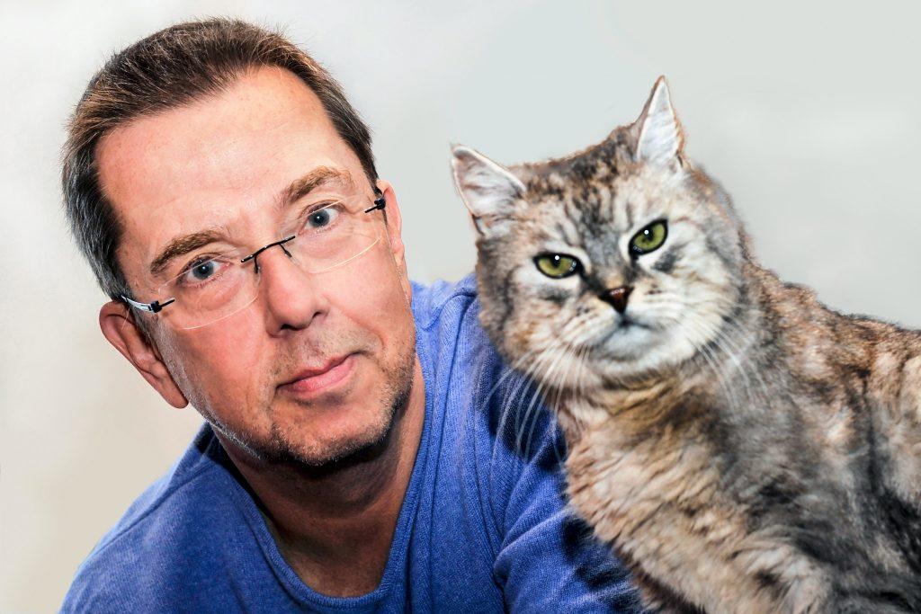Dr. Mario Ludwig und einer der Protagonisten seines Buches; Foto: Elisa Reznicek