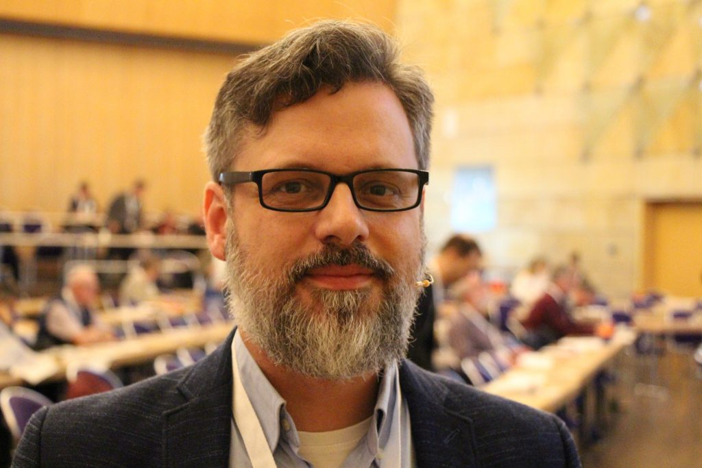Ruhrbaron Sebastian Bartoschek: Experte für Verschwörungstheorien; Foto: Arik Platzek