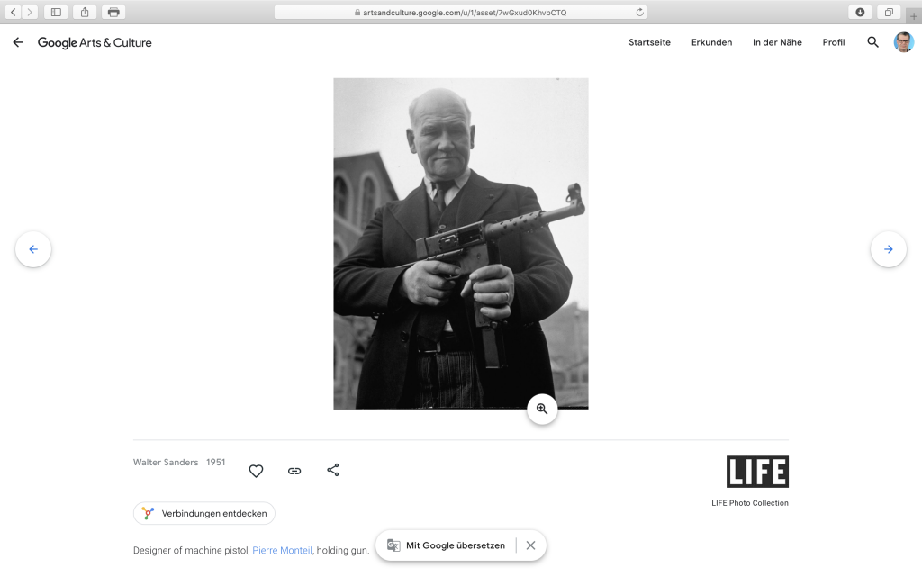 "Die Rubrik ""Bochum"" auf Google Arts & Culture; Screenshot artsandculture.google.com"