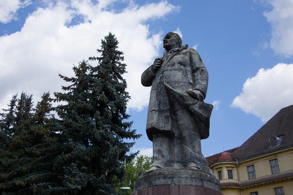 Lenin kommt, wenn das Schicksal nicht eingreift, nach Gelsenkirchen; Foto: Clemensfranz / CC BY-SA