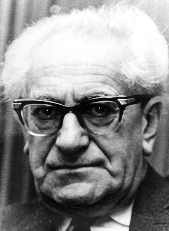 Fritz Bauer, Generalstaatsanwalt in Frankfurt/Main; Foto: Fritz Bauer Institut / A. Mergen / Public domain