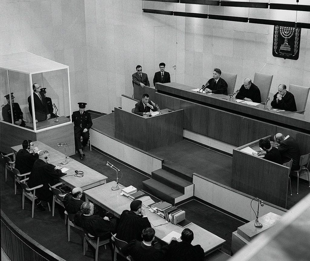 15. Dezember 1961, Todesstrafe für den millionenfachen Mörder: Urteilsverlesung im Prozess gegen Adolf Eichmann