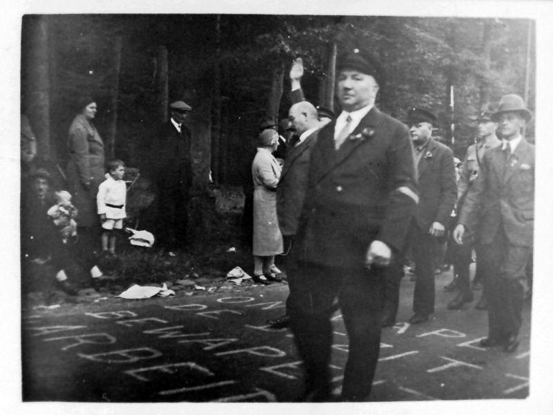 Michael Rodenstock, *11.3.1885, von Faschisten am 2.5.1933 ermordet. Der Sitz der SPD Duisburg-Wanheimerort, das Michael-Rodenstock-Haus, ist nach dem ermordeten Genossen benannt. Foto: Archiv Adolf Graber