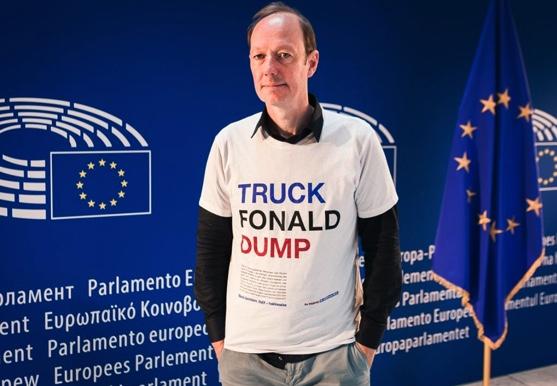 Martin Sonneborn: Außenpolitik mit Augenmaß; Foto: Martin Sonneborn