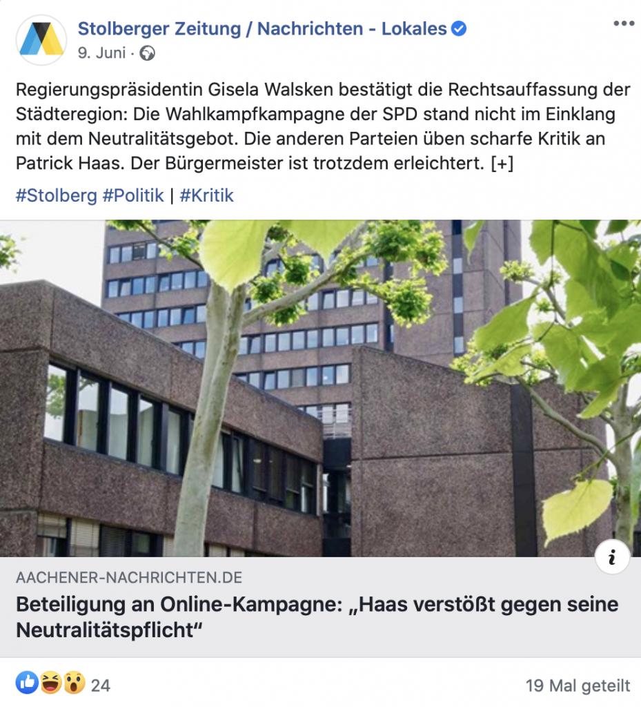 Stolberg pfui, Duisburg hui! Screenshot